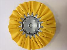 airway buffing wheel - YELLOW ( new )