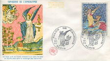 FRANCE FDC - 555A 1458 1 TAPISSERIE APOCALYPSE - 30 Octobre 1965 - LUXE