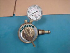 Harris 92SS-50A Regulator With One Gauge