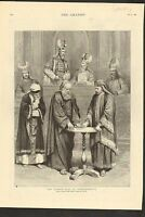 #01-0143 5/31/1890 ANTIQUE PRINT (GERMANY) - PASSION PLAY AT OBERAMMERGAU