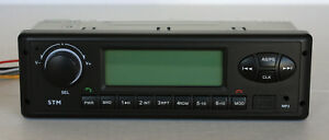 12 volt radio for John Deere Excavator, compact D & G Series  with Bluetooth
