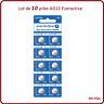 Lot 10 piles boutons AG13/LR44 alcaline Everactive, livraison rapide et gratuite