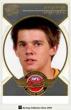 2005 Select AFL Dynasty Hall of Fame Legend Signature Card Lgs9 Peter Hudson