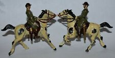 Imperfect 1933 Metal Cast Products #21 American Cavalry Toy Soldier on Horse