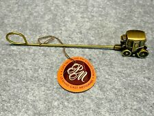 Pm Collection Hand Cast Metalware Brass Stagecoach Candle Snuffer Nwt