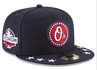 Baltimore Orioles New Era 2018 MLB All-Star Workout On-Field 59FIFTY Fitted Hat