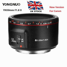 UK ! Yongnuo YN50mm F1.8 II Prime Lens Large Aperture MF AF Auto Focus for Canon