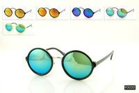 John Lennon Style Retro Classic Vintage Round Circle Mirror UNISEX Sunglasses