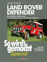 LAND-ROVER DEFENDER Reparaturanleitung Reparaturbuch Repartur-Handbuch Buch NEU