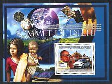 GUINEA GUINE 2009 BLOCK DELHI CAR SATELLIT MNH