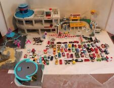 Huge Micro Machines and Other Brands Lot and Playset