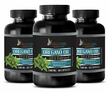 Oregano Oil. Supports Immune System, Digestive, Respiratory (3 Bottles)