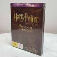 HARRY POTTER And The Prisoner of Azkaban Steelbook Special Ed Blu Ray NEW *Rare*