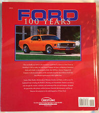 FORD 100 YEARS AMERICA'S ORIGINAL CAR COMPANY MIKE MUELLER - HARDCOVER BOOK 2003
