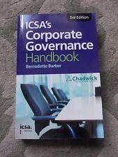Manual de control corporativo ICSA's por Bernadette Barber (de Bolsillo, 2013)