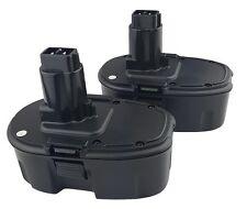 2 x 18V 18 Volt Battery For Dewalt DE9095 DC9096 DW9095 - 2 YEAR WARRANTY
