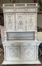 More details for stunning large vintage french antique cabinet
