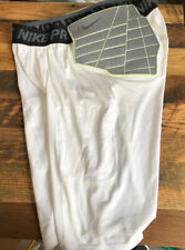 Nike Pro Combat Compression Shorts 3Xl Hyper Strong White With Pads