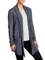 Athleta Cabrillo Wrap Cardigan Sweater, Navy, sz S