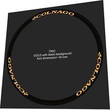 COLNAGO 18mm Rim Sticker / Decal Set