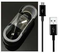 Original Genuino 1.5M Samsung Galaxy S6 S7 borde de carga rápida Micro USB Cable de datos