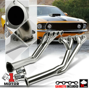 SS Long Tube Tri-Y Exhaust Header Manifold for 64-70 Ford Mustang 5.0 260-302 V8