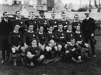 OLD PHOTO of The Welsh Rugby Team In Swansea 1907