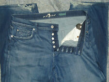 "Men's 7 for All Mankind ""Relaxed"" sz 36 x 27 Button Fly"