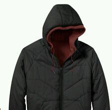NWT Oakley Men Reversible Fleece HydroFree Jacket S Red Mahagony 471926-41H