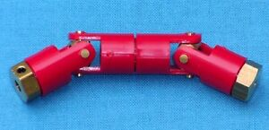 Propshaft Double Coupling for Model Boats and Vehicles