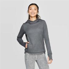 Women's Training herringbone Long Sleeve Fleece Hooded Pullover C9 Champion