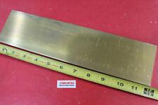 "3//16/"" X 1//2/"" X 6/"" Brass Rectangle Flat Bar C360-H02 .1875 X .5 X 6 Extruded"
