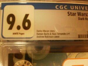 STAR WARS JEDI VS SITH 6 CGC 9.6 DARTH ZANNAH 1ST APPEARANCE DISNEY+ RUMORS
