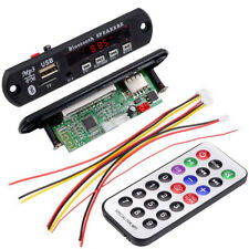 Auto 12V Bluetooth MP3 WMA FM AUX Decoder Module Audio USB TF SD Card Radio