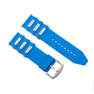 22MM - 24MM - 26MM SILICONE RUBBER DIVER WATCH BAND STRAP FOR INVICTA WATCH