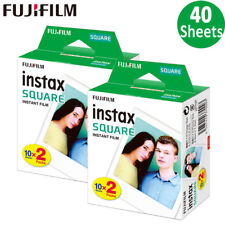 40 Sheets Fujifilm Instax SQUARE Film - Fuji SQ6 SQ10 SQ20 Instant Camera SP-3
