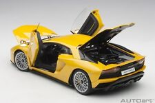 Autoart LAMBORGHINI AVENTADOR S 2017 NEW GIALLO ORION/PEARL YELLOW 1/18 New!