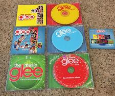 (3) CD LOT Glee *Season 1, Vol. 1, Season 2, Vol. 4, Christmas Album *VG+ to NM-