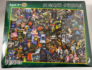 Classic Horror Movie Jigsaw Puzzle NEW Collage 1000 Pieces 70cm X 50cm