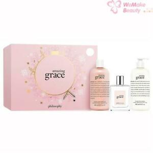 Philosophy Amazing Grace 3 Piece Set New In Box