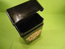 LOT OF 1 BLACK PLASTIC HARD CASE RYO! 100's TOP CIGARETTE CASE man cave smokers