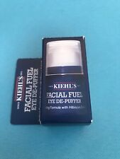 Kiehl's Facial Fuel Eye De-Puffer 0.17oz  New