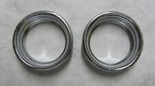 Schwinn Stingray Krate Fastback Lower bearing cups set of 2,fits 68-73 rechrome