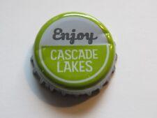 Beer Bottle Crown Cap ~*~ CASCADE LAKES Brewing Co IPA ~ Redmond, OREGON Brewery