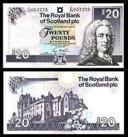 Royal Bank of SCOTLAND £20 Pounds UNC 2017 * P-354 Banknote