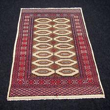 Orient alfombra Bakhara 141 x 89 cm Turkman Turkmen ALT old Carpet Rug Bukhara