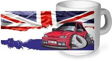 Koolart Rétro Classico Biritish Ceramica Tazza & Mk3 Fiesta Rs Turbo Rst