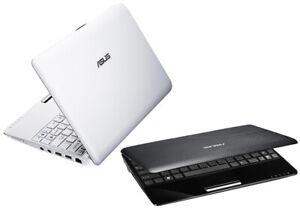 "ASUS Eee PC mini Netbook 1005P Atom N450 2GB 128GB SSD 10.1"" Screen Win 10"