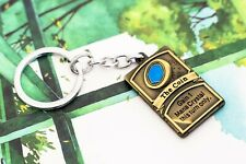 Hearthstone The Coin Mana Crystal Metal Keyring Keychain
