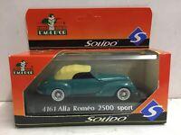 Solido L'Age D'Or Alfa Romeo 2500 Sport #4161 1:43 Die Cast Scale Model
